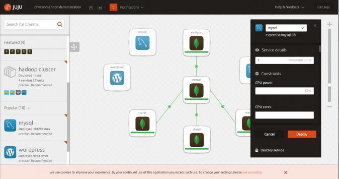 Juju - Ubuntu - Cloud Computing builder