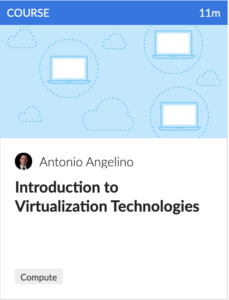 Course on Intro to Virtualization