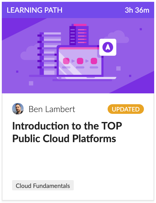 Cloud Academy's Intro to the Top Public Cloud Platforms