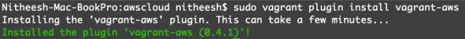 AWS Plugin Installation