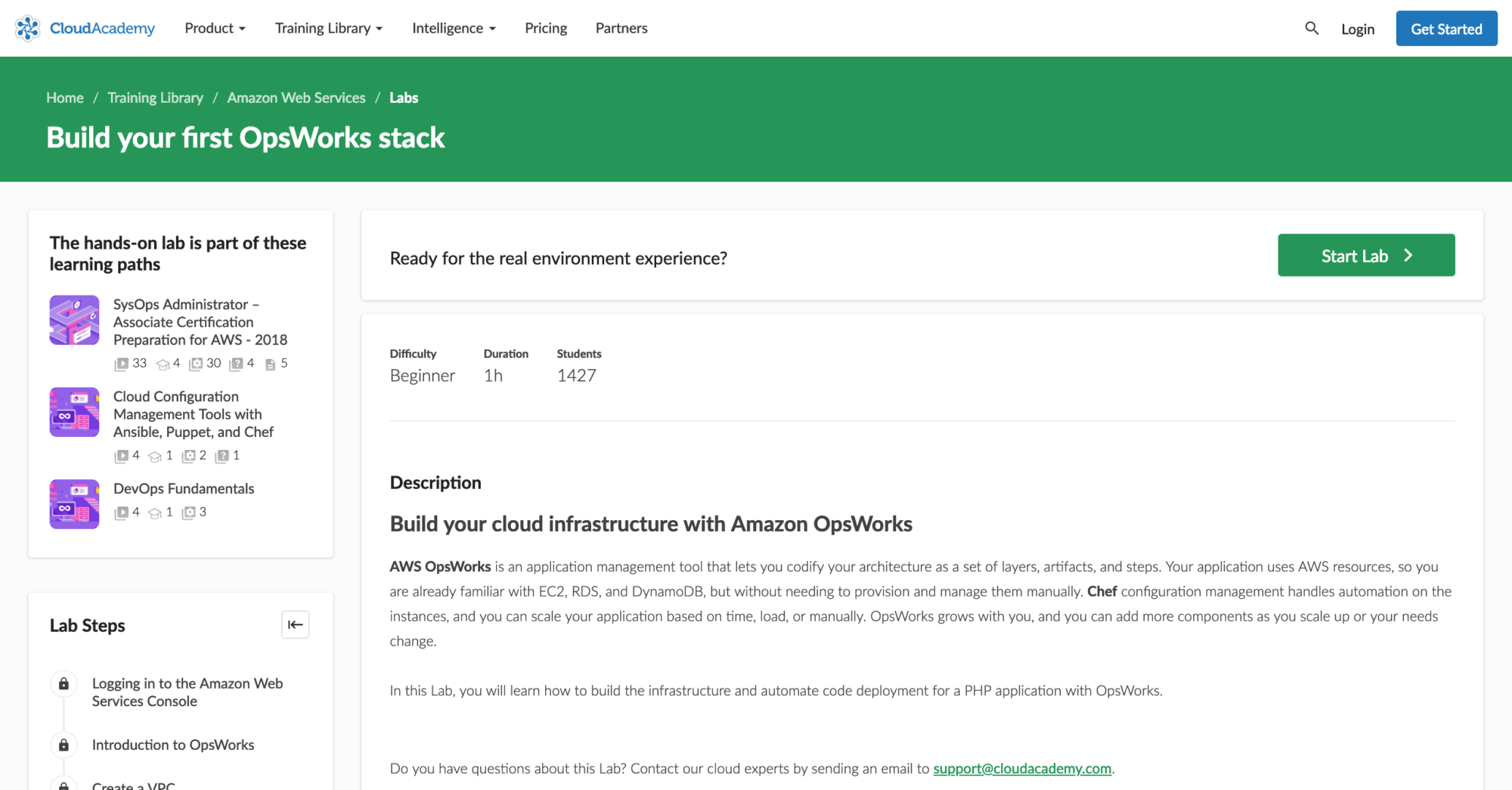 Build your first OpsWorks stack hands-on lab