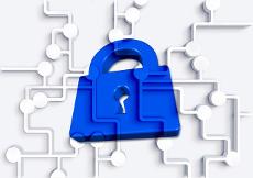 Icon representing a data breach