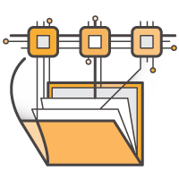Elastic File System Icon