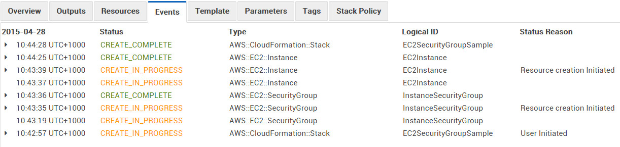 CloudFormation Stack