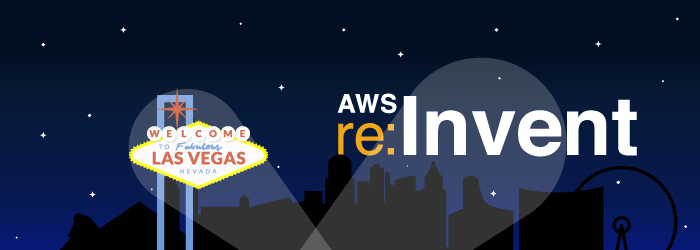 AWS re:Invent 2015 Las Vegas Banner