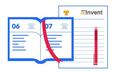 AWS re:Invent 2015 agenda
