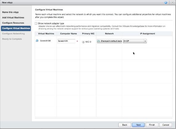 vCloud Air - Configure virtual machines