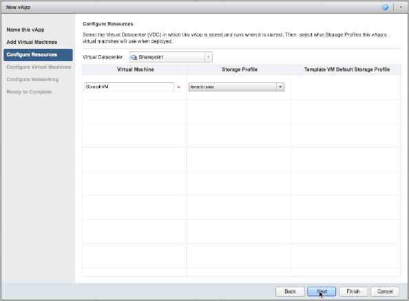 vCloud Air - Configure resources