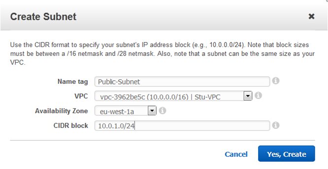 AWS Network ACL- subnet