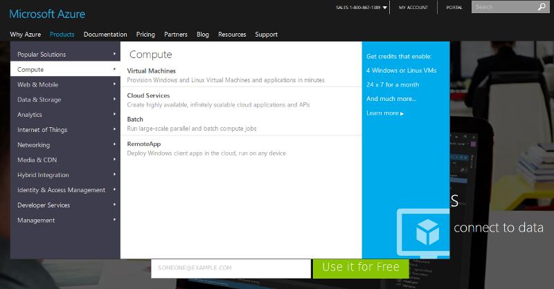 Azure App Service Compute screenshot