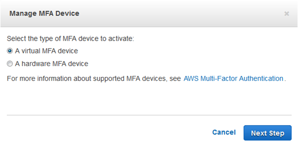 AWS identity and access management