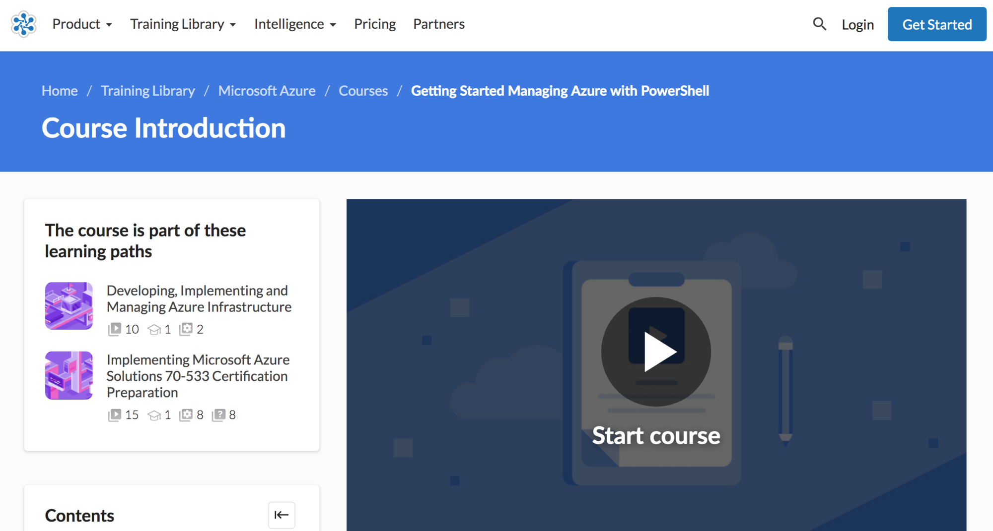 Getting Started Managing Azure with Powershell