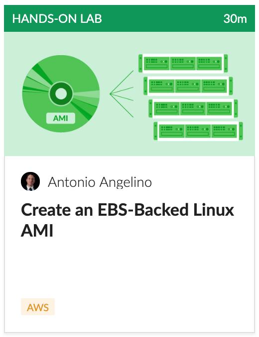 Create an EBS-Based Linux AWS AMI