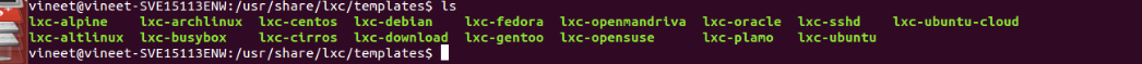 Linux Container