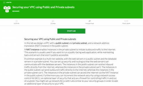 Securing your VPC using Public and Private subnets AWS