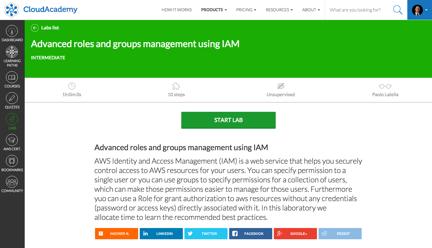Advanced roles and groups management