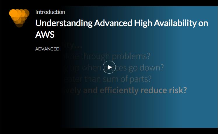 High Availability on AWS