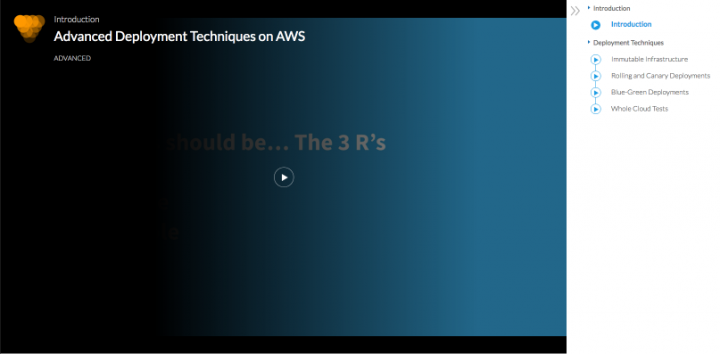 amazon web services new courses