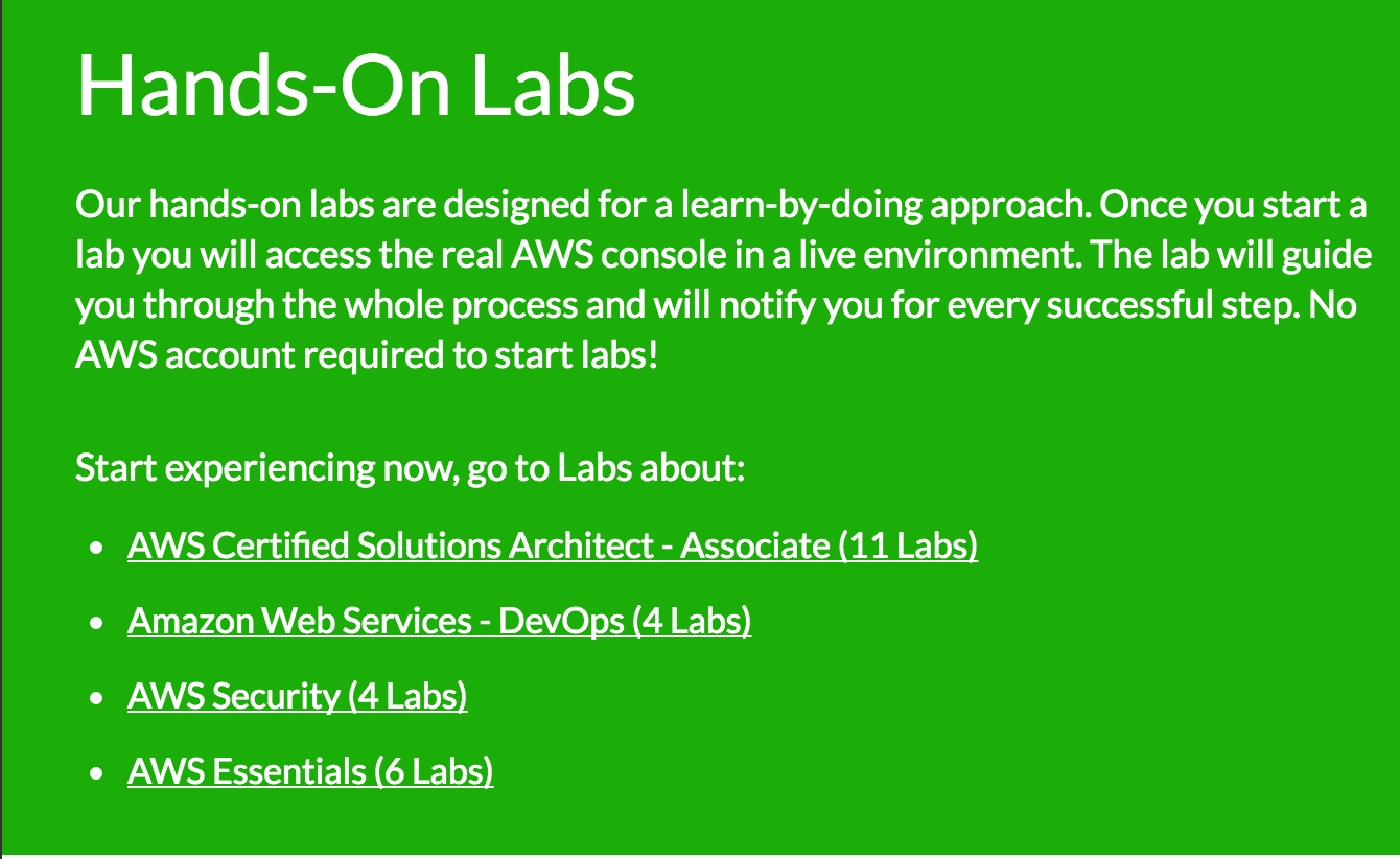 Hands-on Labs