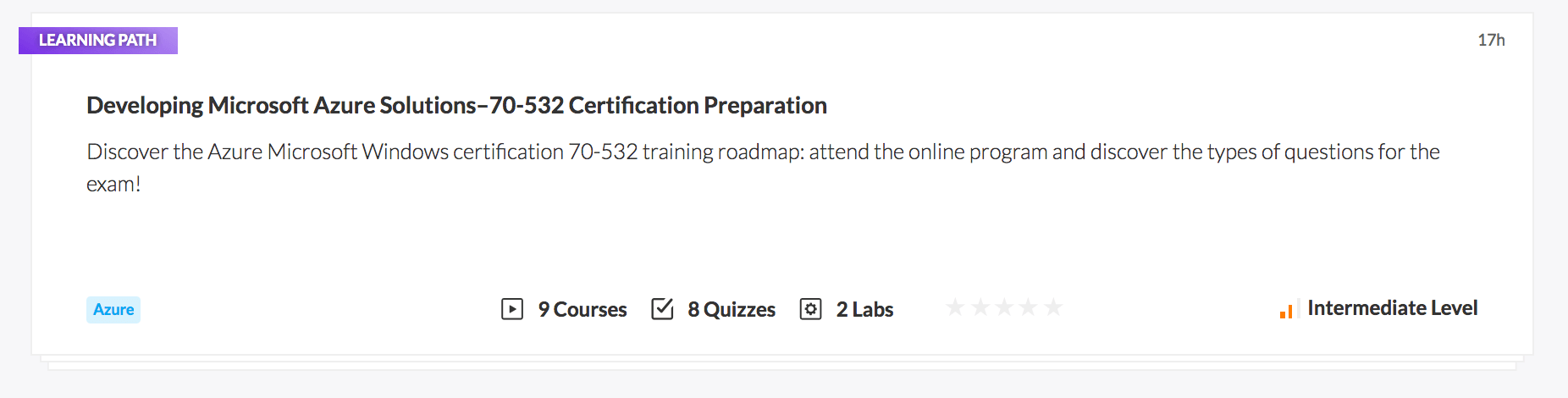 Developing Microsoft Azure Solutions - 70-532 Certification Preparation
