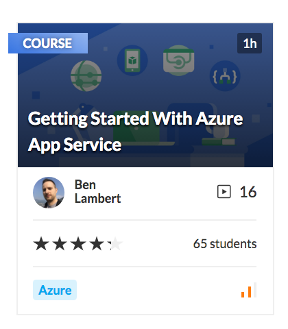 Getting started with Azure App Service