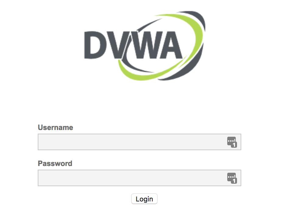 DVWA Login