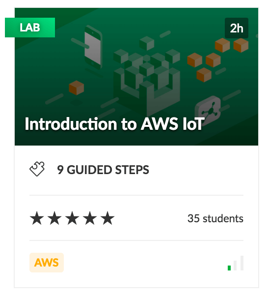 Introduction to AWS IoT Lab