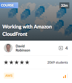 Working with Amazon CloudFront