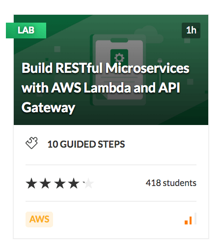 Build RESTful Microservices with AWS Lambda and API Gateway