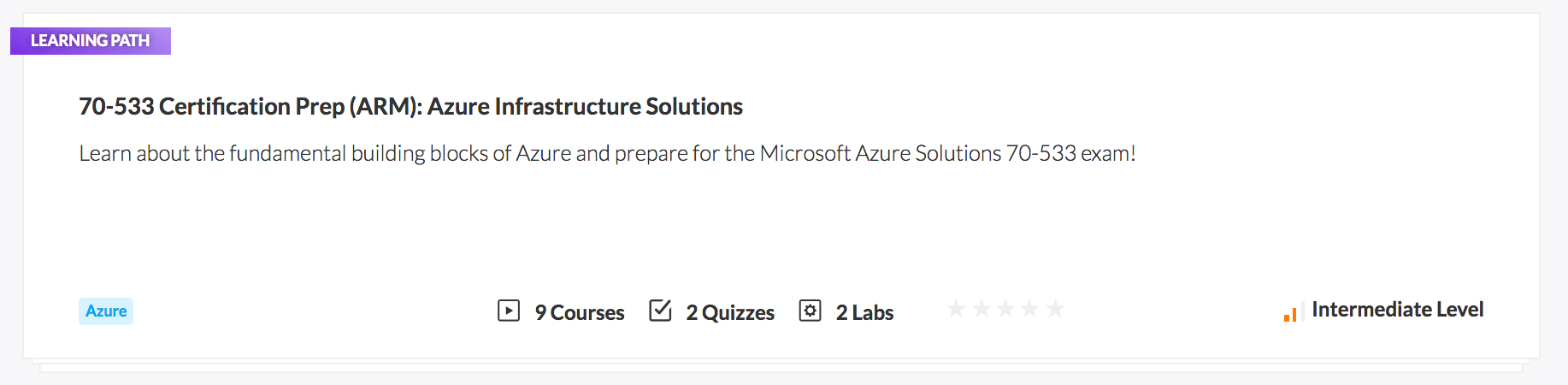 70-533 Certification Prep (ARM): Azure Infrastructure Solutions