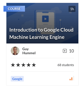 Introduction to Google Cloud Machine Learning Engine