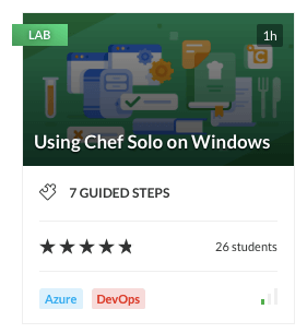 Using Chef Solo on Windows