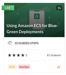 Using Amazon ECS for Blue-Green Deployments