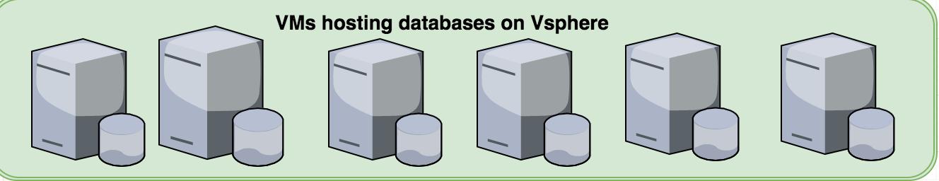VMs Hosting Databases on VSpheres