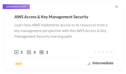 AWS Access & Key Management Security