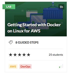 Getting Started with Docker on Linux for AWS