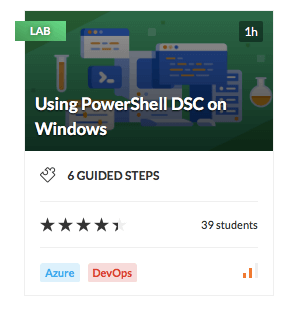 Using PowerShell DSC on Windows
