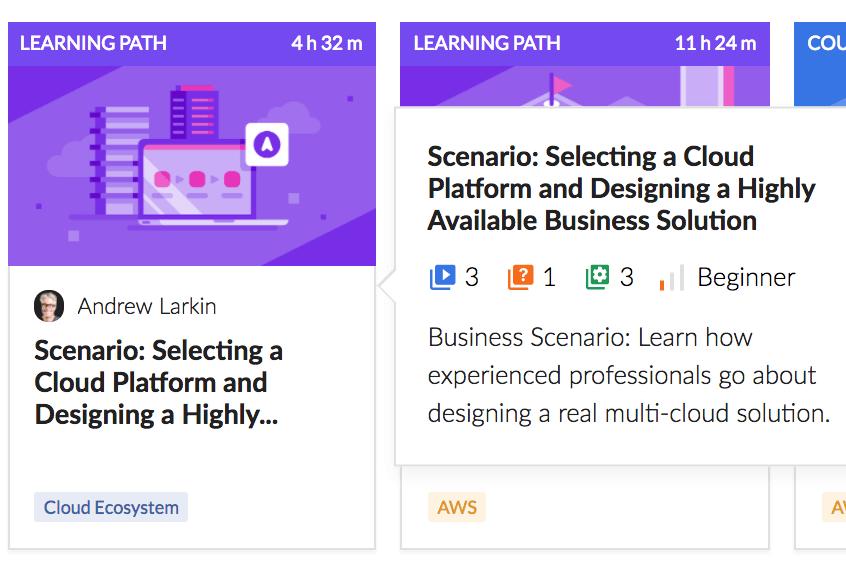 Selecting a Cloud Platform Scenario