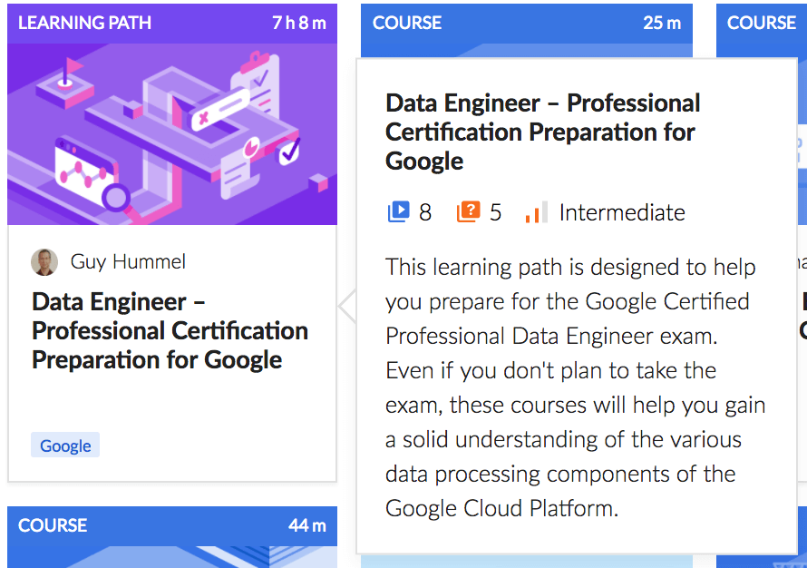 Data Engineer Learning Path