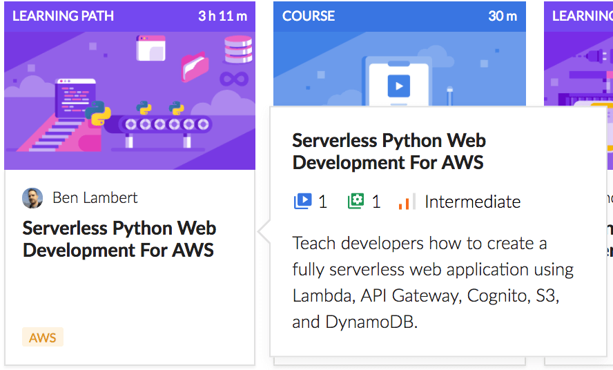 Serverless Python Web Development