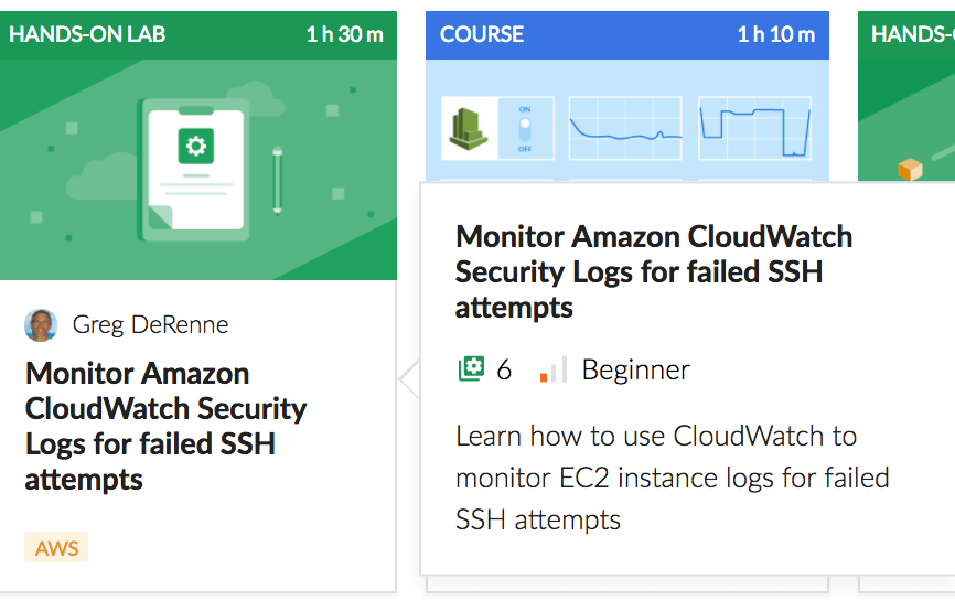 Monitor Amazon Cloudwatch Security Logs for Failed SSH Attempts