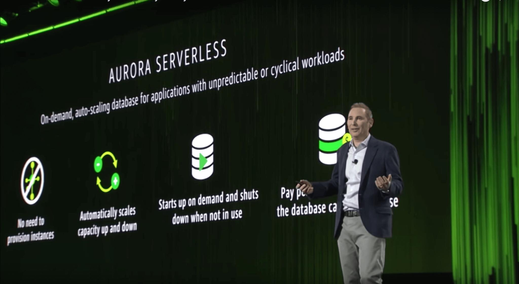 AWS Announcements at re:Invent 2017 - Aurora Serverless