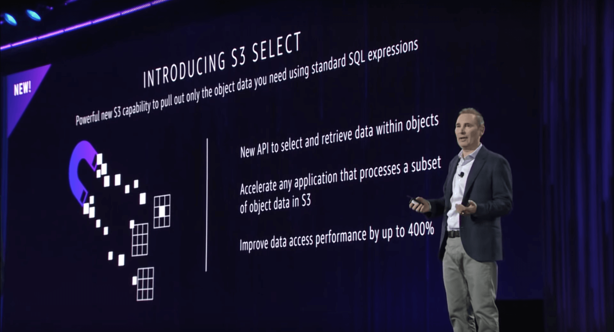 AWS Announcements at re:Invent 2017 - Introducing S3 Select