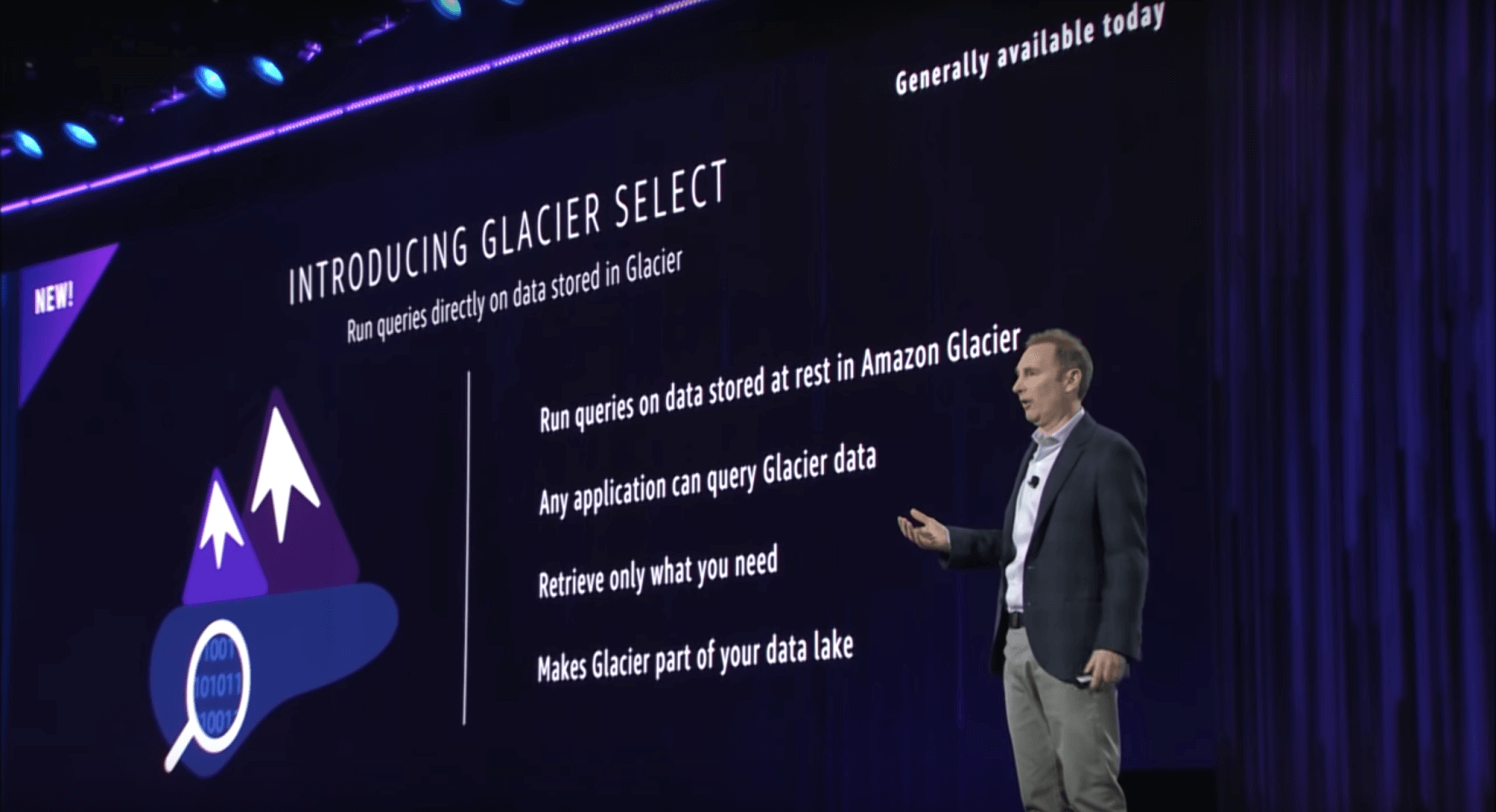 AWS Announcements at re:Invent 2017 - Introducing Glacier Select