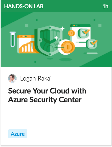Secure your cloud with azure security center
