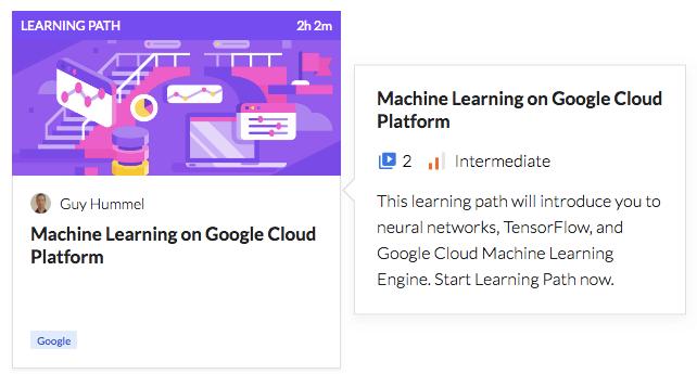 Machine Learning on Google Cloud Platform