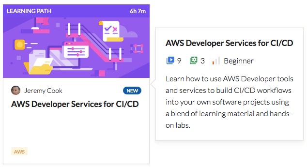 AWS Developer Services for CI/CD