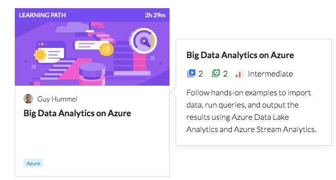 Big Data Analytics on Azure