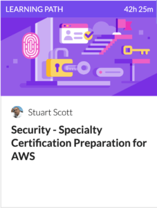 AWS Security Certification Prep Learning Path