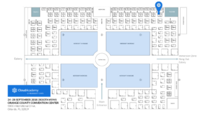 Microsoft Ignite Expo Floor Plan